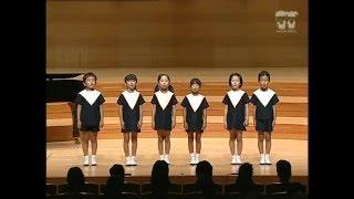 童謡メドレー 唱歌 「 青い目の人形」 ひばり児童合唱団 創立70周年記念公演 04曲目