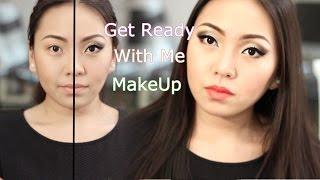 Get Ready With Me/ Макияж Кошачий Глаз|NikyMacAleen