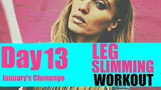 LEG SLIMMING AND BOOTY SCULPTING WORKOUT - all floor based and just 3 moves - and you will feel it