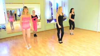 Первый урок танцев Go Go  Часть танцевальной комбинации  Хореограф Таня