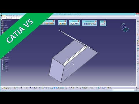 S 2 Solid To Sheet Metal Catia V5 Sheet Metal Training