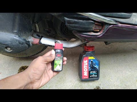 Honda Activa Engine Oil Flush