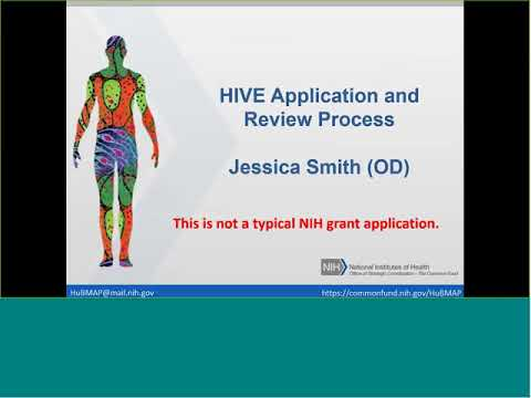 Human BioMolecular Atlas (HuBMAP) Pre-Application Webinar for RFA-RM-18-001