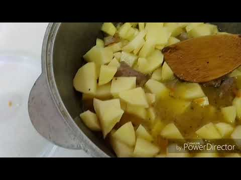 Тушеная картошка с печенью в мультиварке рецепты с фото