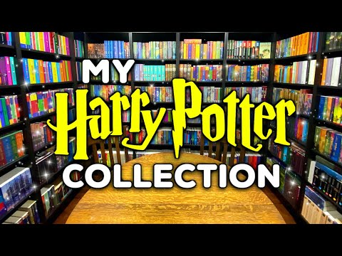 The LARGEST Harry Potter Book Collection in the World | Over 1,700 Books