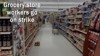 Don't stop, don't shop? Grocery store workers in CT go on strike