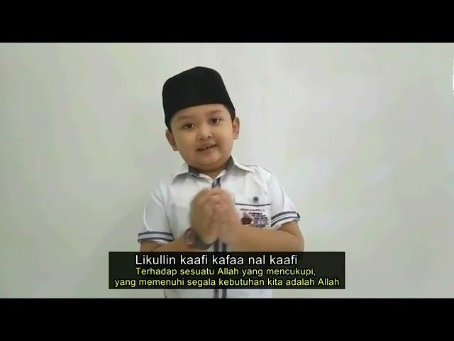 #CoverSongComtetition Sholawat Allahul Kaafi by Alvaro Putra Dzaka Dento