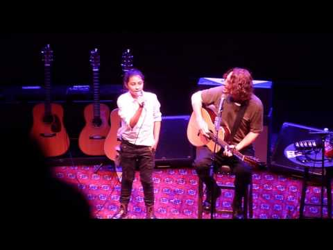 Chris Cornell (w/ his daughter Toni) Redemption Song 10/19/2015
