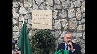 Capri. Intitolazione del Campo di Calcio in Memoria di Mister Germano Bladier