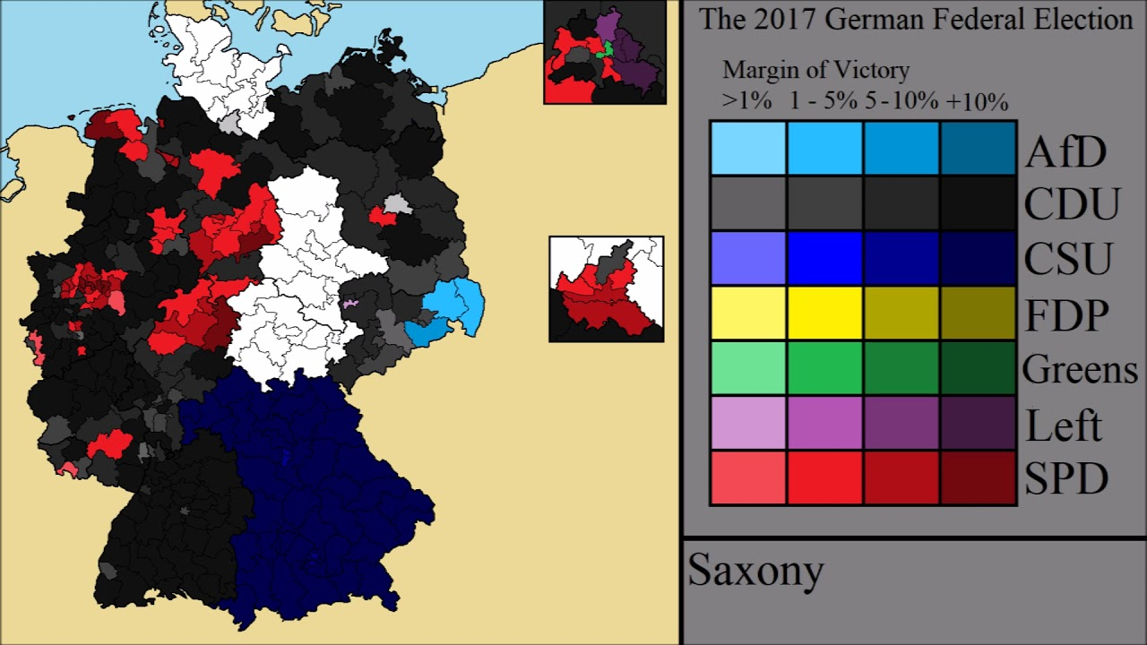 the 2017 german federal election final results youtube