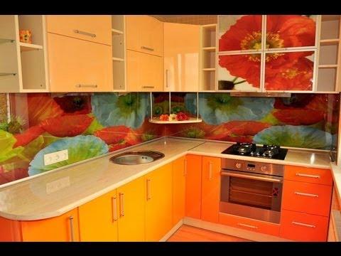 Кухня фото дизайн оранжевая