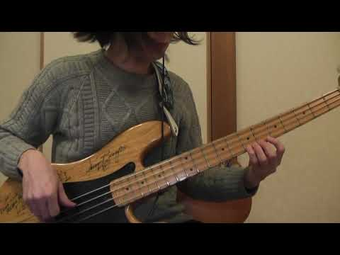 Autumn Leaves / Jim Hall & Ron Carter (Bass Cover) part1