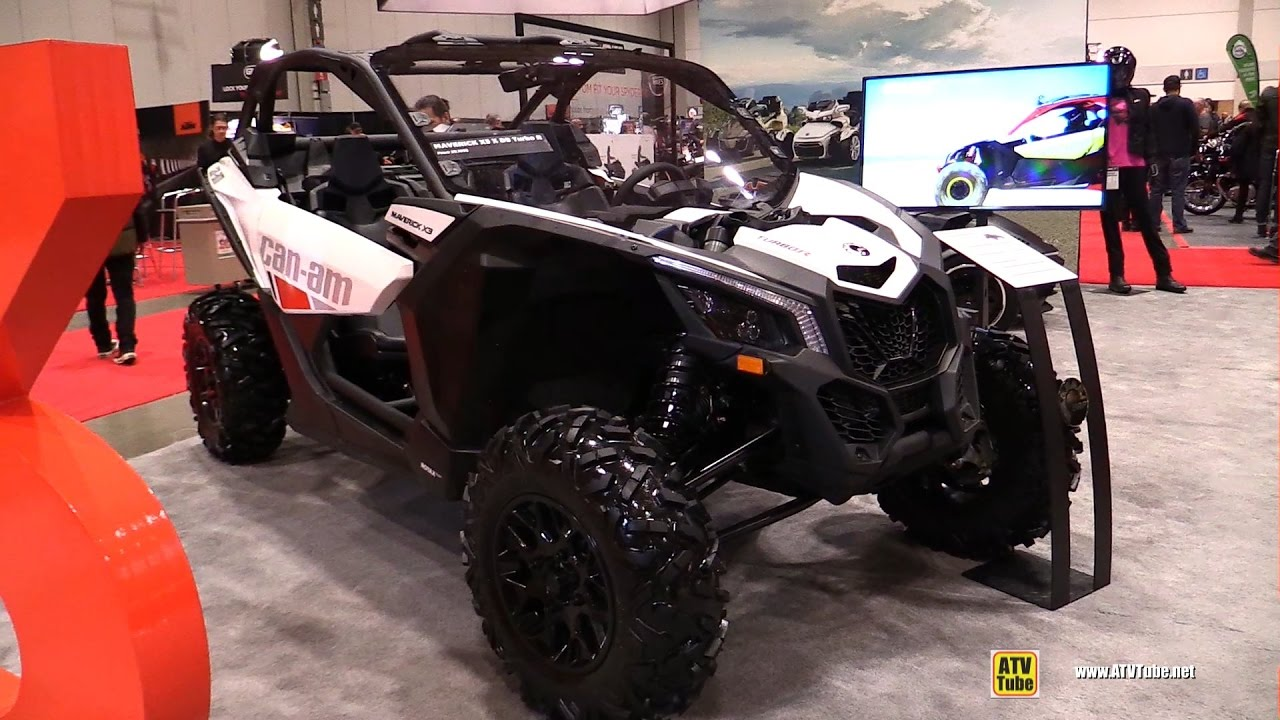 2017 Can Am Maverick X3 X Ds Turbo S Side By Atv Walkaround Toronto Motorcycle Show
