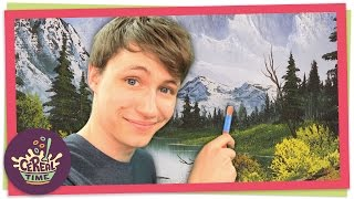 Paint Along with Bob Ross | Cereal Time