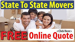 State To State Movers Online Quote | Get 7 FREE Moving Quotes Now To Save!