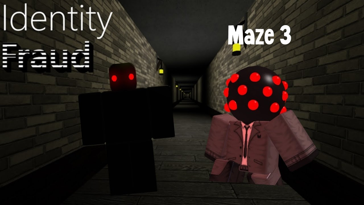 How To Complete Maze 3 In Identity Fraud Revamp Part 2 Roblox