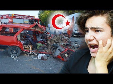 TÜRKİYE DE YAŞANAN TRAFİK KAZALARI !