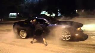 Mexico 5.0 Mustang Burn Out