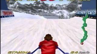 Big Mountain 2000 Time Attack Stage 1 Free Ride 1 58 041 N64 Derek