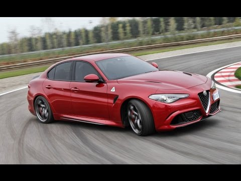 alfa romeo giulia quadrifoglio 2017 review price specs info youtube. Black Bedroom Furniture Sets. Home Design Ideas