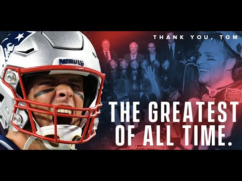 Thank You Tom Brady - Forever A Patriot