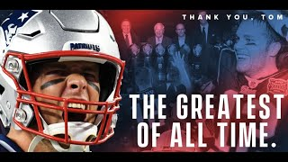 Thank You Tom Brady - Forever A Patriot
