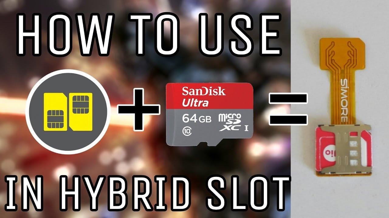 has anyone tried dual sim + sd card hack | Lenovo P2