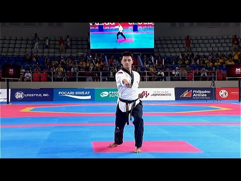 Rodolfo Reyes Jr. Bagged The GOLD MEDAL In The Men's Individual Poomsae Event | 2019 SEA Games