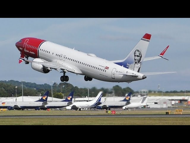 Mid Afternoon Plane Spotting at Edinburgh Airport | 737 MAX A320s F100 & More