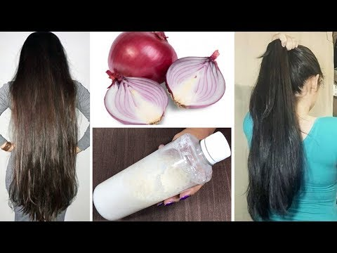 Wash your hair with this MAGICAL ONION SHAMPOO & Get long thick hair , stop hair fall (100% works)