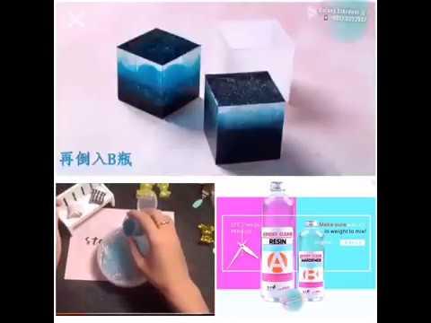 HARD SOFT-Crystal Glue-Clear Epoxy Resin AB-3D Embed-DIY Art Jewelry-Glow In Dark Jar-Gummy Silicone