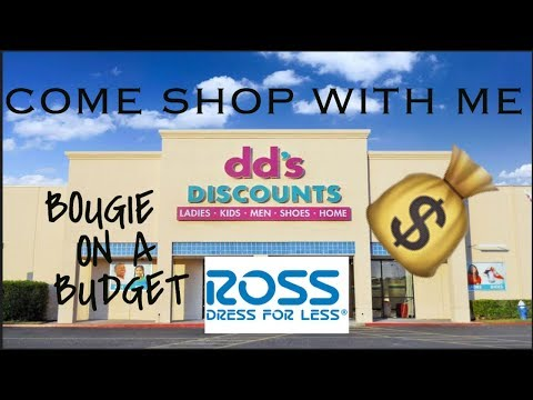 Come Shop With Me  Affordable Ross And DDS Discounts Haul 2018