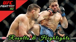 UFC Rochester Results & Highlights : Dos Anjos vs Lee