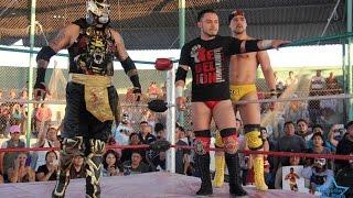 Penta0M, Daga y Garza Jr vs Mr. Electro, Black Demon y Devastador.