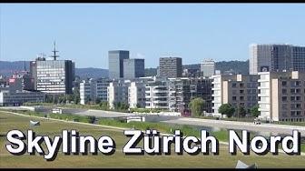 Skyline Zürich Nord im Jahr 2015