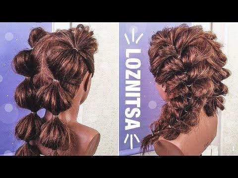 ПРОСТЫЕ ПРИЧЕСКИ для ДЕВОЧЕК на 1 сентября. Прически из Резиночек. Hairstyle For Long Hair.