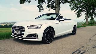 NEW ABT Audi S5 Cabrio Driving Video Debut