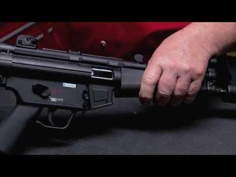 MP5 .22 Field Stripping