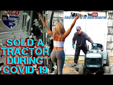 HOW TO ACQUIRE TRADE FIX SELL DELIVER FLIP CRAFTSMAN LT1000 LAWN TRACTOR PAID PROFIT DEALING HUSTLE