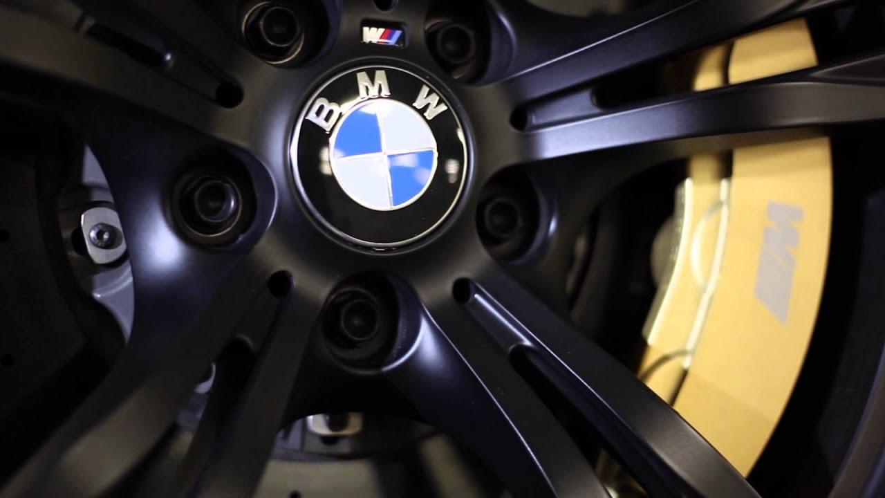 Bmw M6 Gran Coupe Matt Schwarz For Sale Youtube