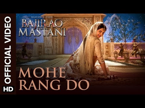 Thumbnail: Mohe Rang Do Laal (Official Video Song) | Bajirao Mastani | Ranveer Singh & Deepika Padukone