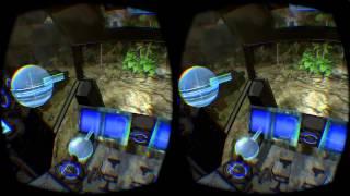 Mecha driving prototype - Oculus Rift DK2 with Hydra