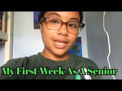 My First Week as a Senior at Kapaa High School