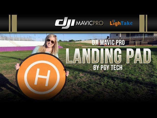 DJI Mavic Pro / Landing Pad (Showcase)