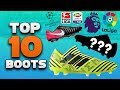 Top 10 Boots for the 2017-18 Season! Best Soccer Cleats