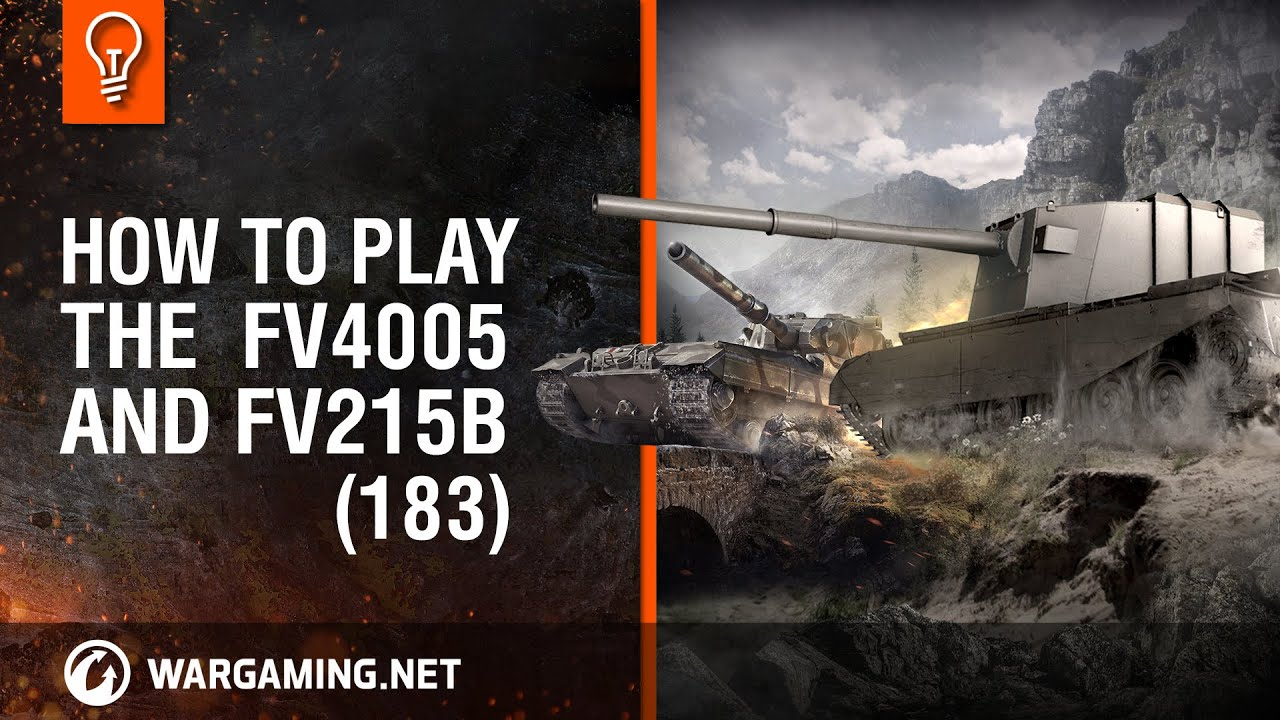 How to play the FV4005 and FV215b (183). Brothers in arms [World of Tanks]