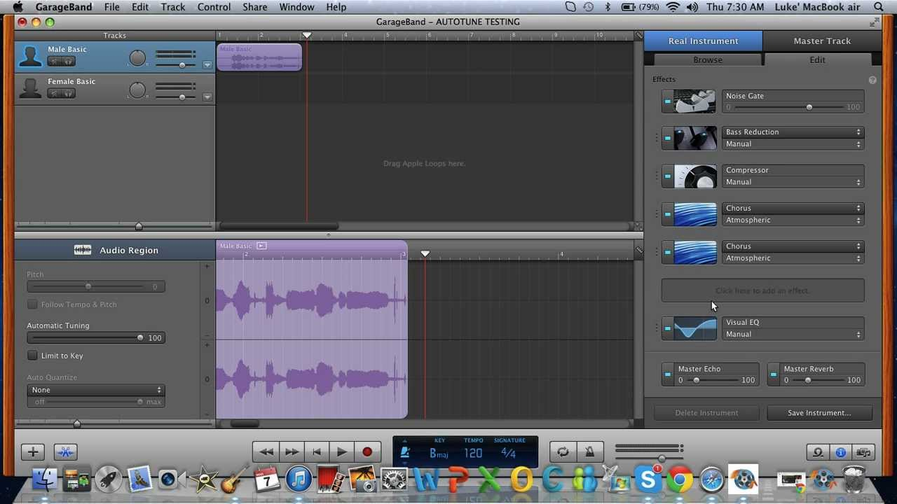Garageband Autotune | Best Mac Music Production Software
