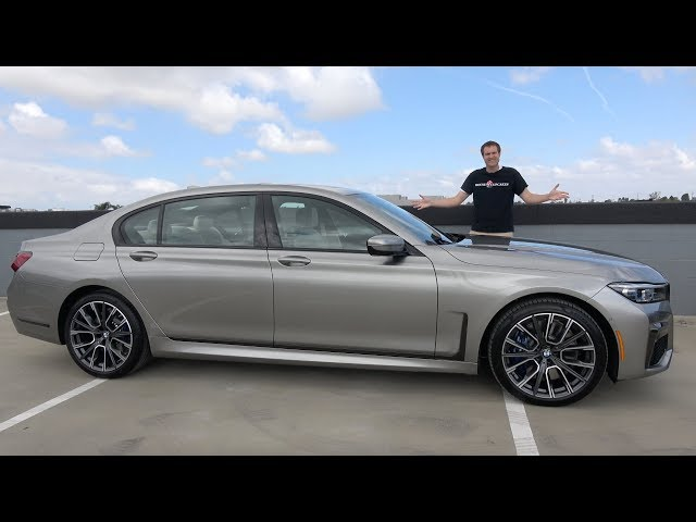 The 2020 BMW 750i Is BMW's New Flagship Luxury Sedan