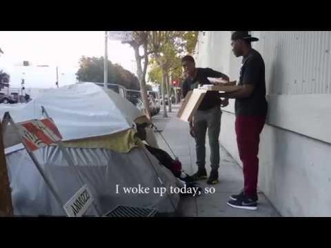 Teens Feed The Homeless Around The City