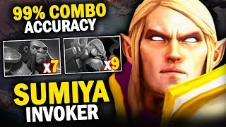 OMG!! SUMIYA INVOKER 99% ACCURACY COMBO | EPIC 27 KILLS GAME - DOTA 2 INVOKER 7.20D